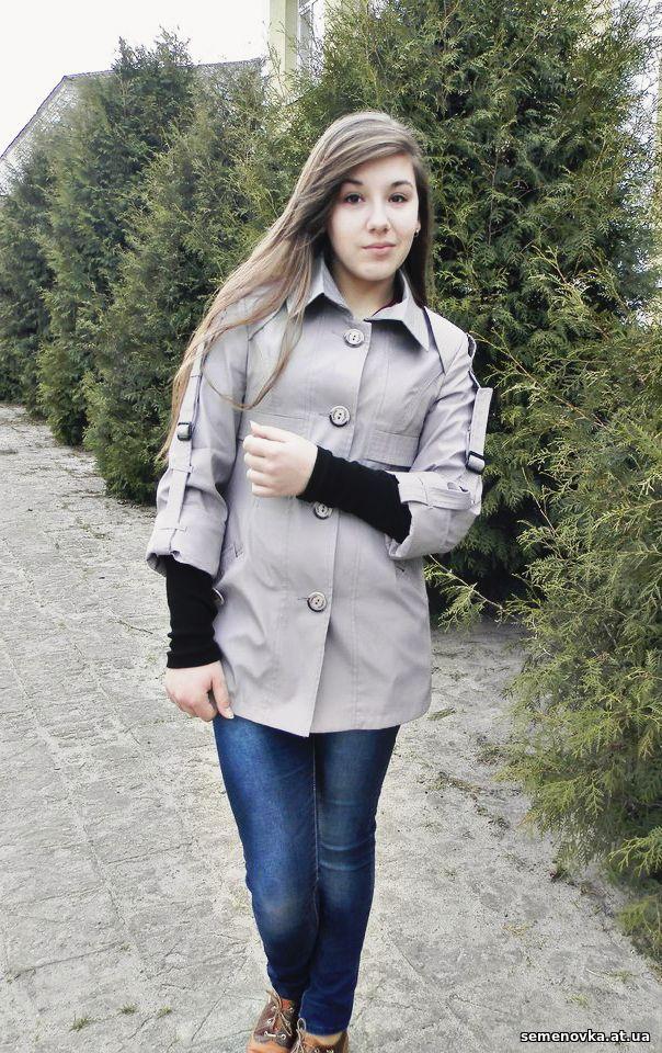 Анна Білогур, студентка