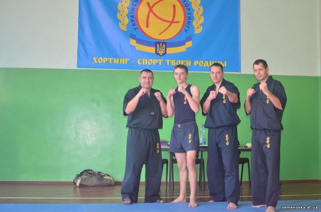 Денис Буданов, тренер з хортингу Семенівської ДЮСШ
